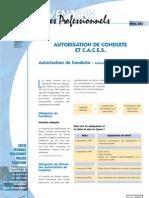 REG risques professionnels & autorisation de conduite (CACES) _cram Aquitaine2003