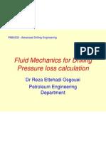 Pressure Loss Calculation