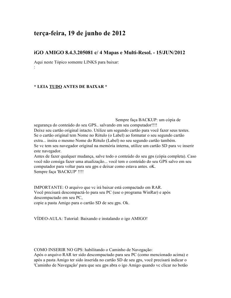 8.4.3 BAIXAR IGO AMIGO