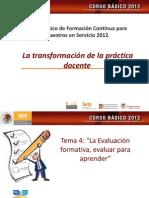 Tema Cuatro Curso Basico 2012