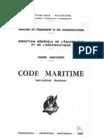 Code Maritime 1967