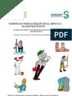 NORMAS DE TRABAJO SEGURO Personal de mantenimiento