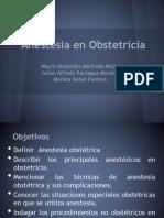 Anestesia en Obstetricia
