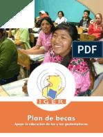 Plan de Becas 2012