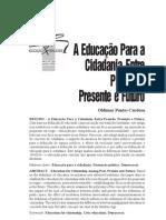 CARDOSO, Oldimar Pontes - A Educação para a Cidadania