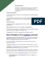 LOS MODELOS EN PSICOPATOLOGÍA