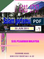 seminar Ekonomi Asas SPM