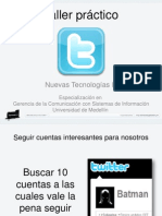 Taller Practico MicroBlogs NT2 #GCcSI