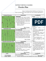 U10 - Combination Play - Wall Passes & Take-Overs