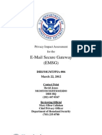 Privacy Pia Emailsecuregateway 032012 DHS Privacy Documents for Department-wide Programs 08-2012