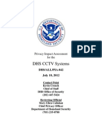 Privacy Pia Dhs Cctv DHS Privacy Documents for Department-wide Programs 08-2012