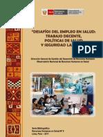 Desafios Empleo Salud MINSA Libro
