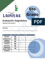 6to Grado - Diagnóstico (11-12)