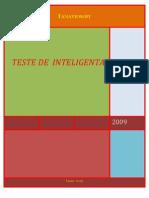Teste de Inteligenta