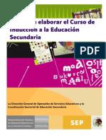 Guía CURSO DE INDUCCIÓN
