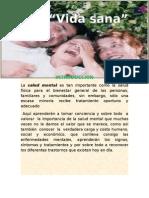 Webquest- Vida Sana de Mercedes Franco