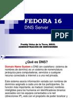 GNU/Linux Fedora 16 - DNS