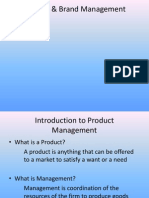 Product Brand Management(PBM)