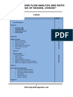 A Project Report on Cash and Fund Flow Analysis and Ratio Analysis of Dksskn, Chikodi