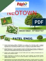 Patel Neotown Noida Extension @ CALL 9953518822,9718337727 Neotown Greater Noida