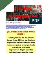 Noticias Uruguayas Jueves 9 de Agosto Del 2012