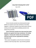 Research in Biochemistry