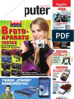"8/2012 ""Computer Bild Lietuva"" – 8 fotoaparatų testas"