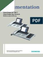 Bedienungsanleitung OpenStage 60-80 T HP4000