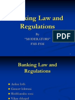 Banking Law and Regulations, Group-5