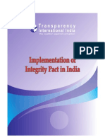 Important-Implementation of Integrity Pact in India