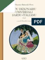 Vocabolario Sardo-Italiano D - O