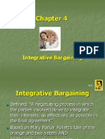 Chapter 4 Integrative Bargaining