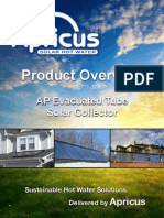 Apricus AP Solar Collector Overview
