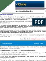 Recursion Definition