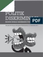 Politik Diskriminasi Rezim Susilo Bambang Yudhoyono