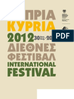 Kypria-International festival  2012 Cyprus