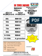 Result 9pin 6 Aug. 2012