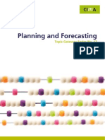 17 Planning and Forecasting