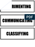 Science Processes