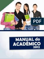 Manual do Acadêmico 2012