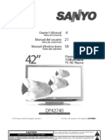 DP42740 Owners Manual