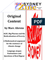 OccupySydneyZine 2012 Original Content Marc Ahrens