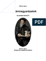 Kalvin Janos Zsoltar Kommentar 1-60