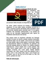 Angola Na Imprensa Internacional