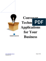 Conveyor Technology Applications for Your Business