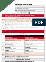 Moldes ABM 2012 programação
