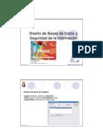 Diseño de base de Datops y Seguridad de Informacion