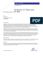 TotalQuant Analysis of Teas and Wines by ICP-MS