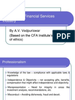 Ethics in the Financial Services Industry