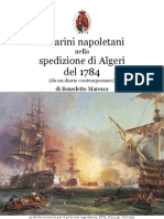 1892 MARESCA The Napoletan Squadron and the Spanish Bombardment of Algiers 1784